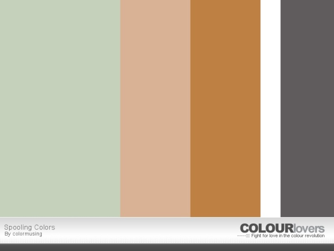 Threads palette on ColourLovers