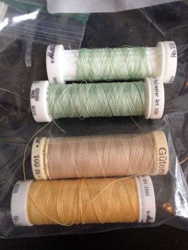 Thread palette