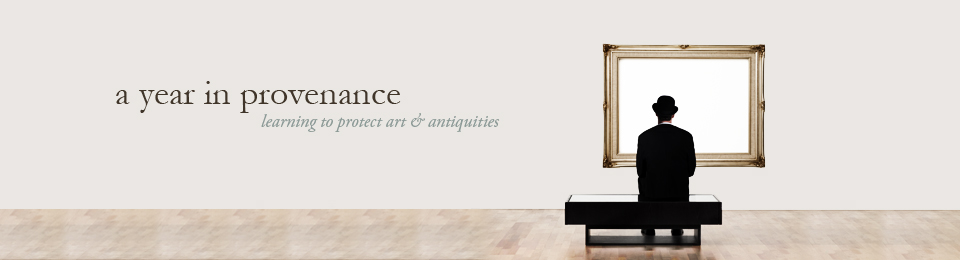 A Year in Provenance header image