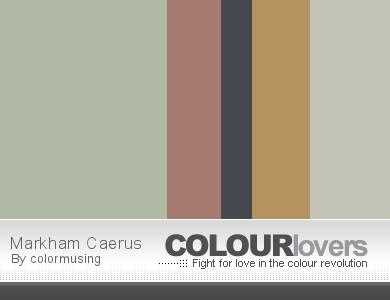 Markham Caerus website/blog color palette