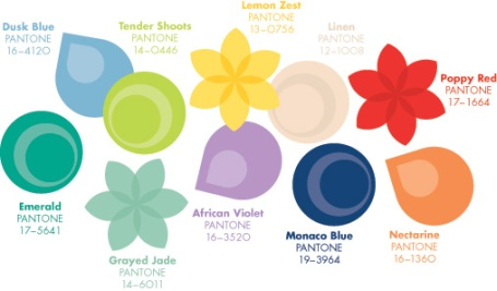 Pantone's Spring 2013 fashion colors