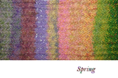 The Spring color sequence