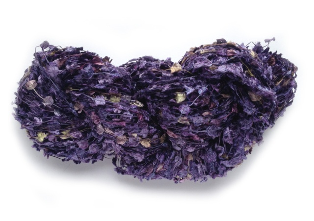 Ticklish in Amethyst, February's birthstone. Click the photo to see this yarn in my Etsy shop.