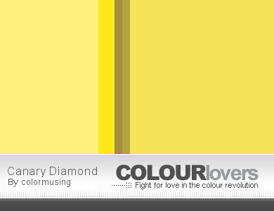 Canary Diamond palette