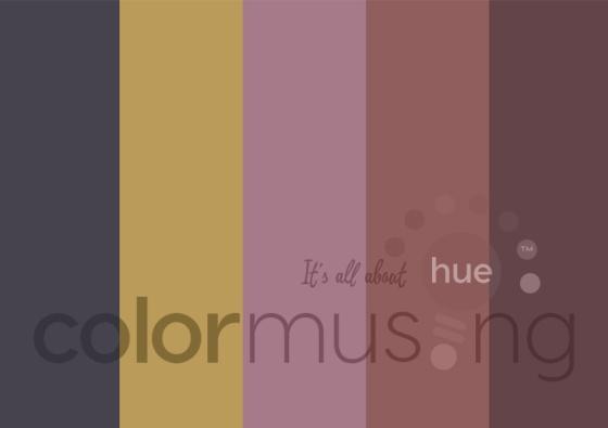 Paris Reflection color palette
