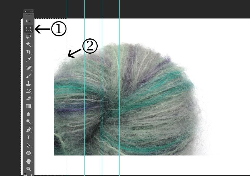 Select a color area