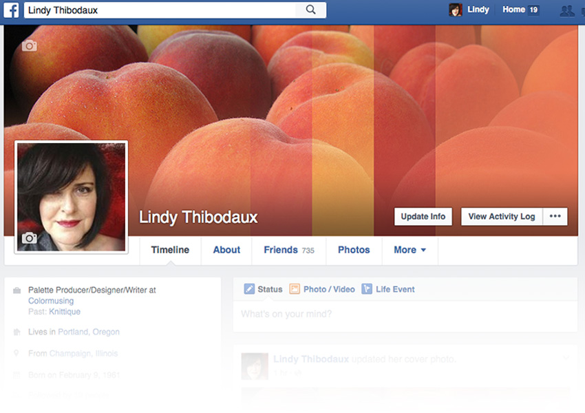 Finished Facebook cover image