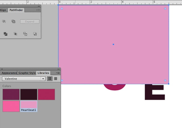 Create a background.