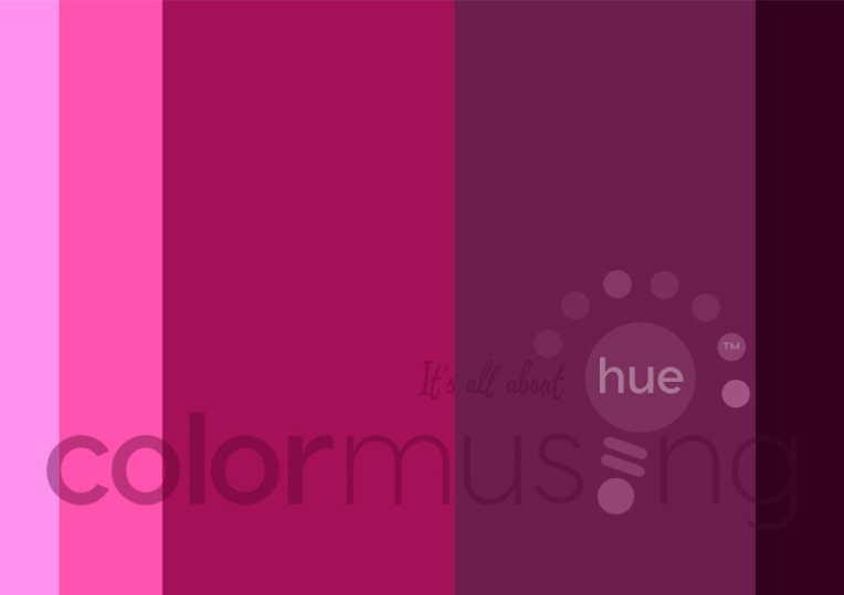Heartbeat color palette from Colormusing