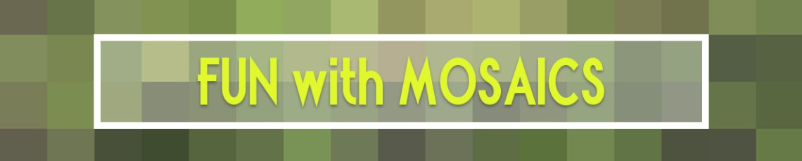 Mosaic header idea