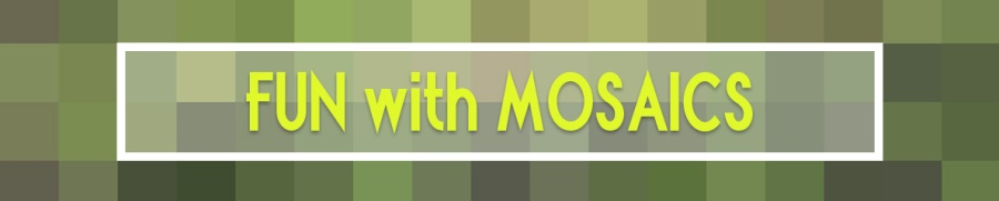 Mosaic header idea