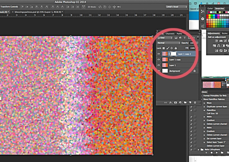 After adding mask to confetti layer.