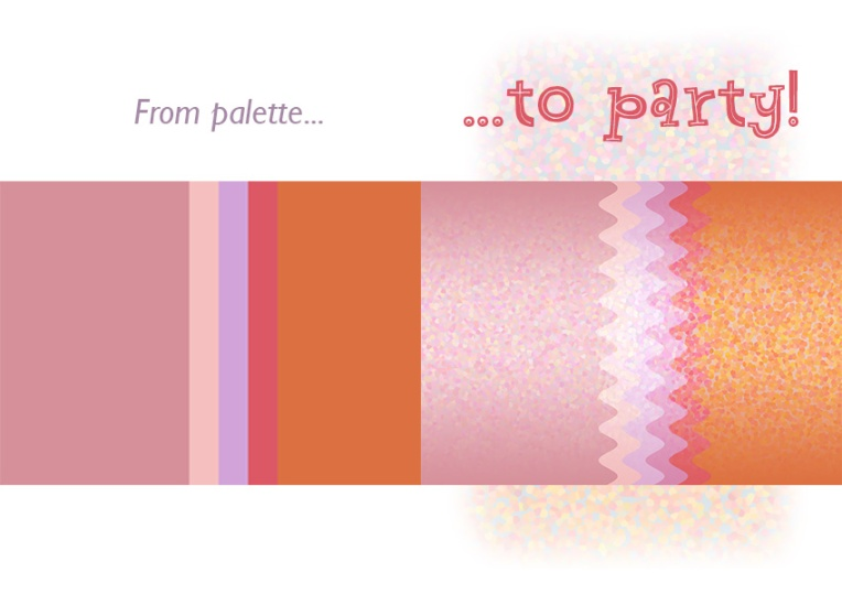 From palette to party!