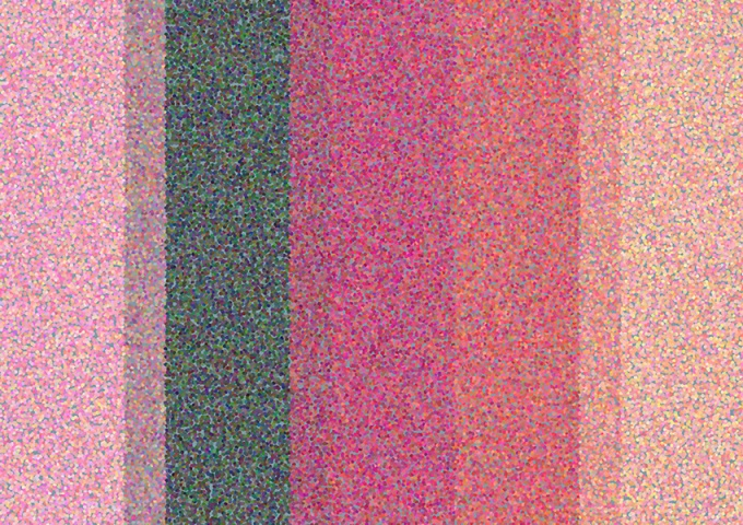 Finished simple version of Pointillist Palette